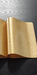 Placemats-Little Star-Gold