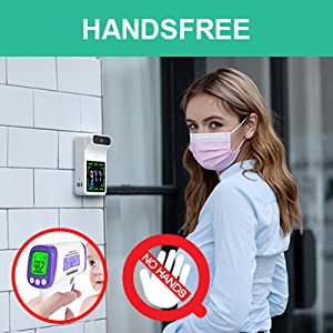 hands-free thermometer