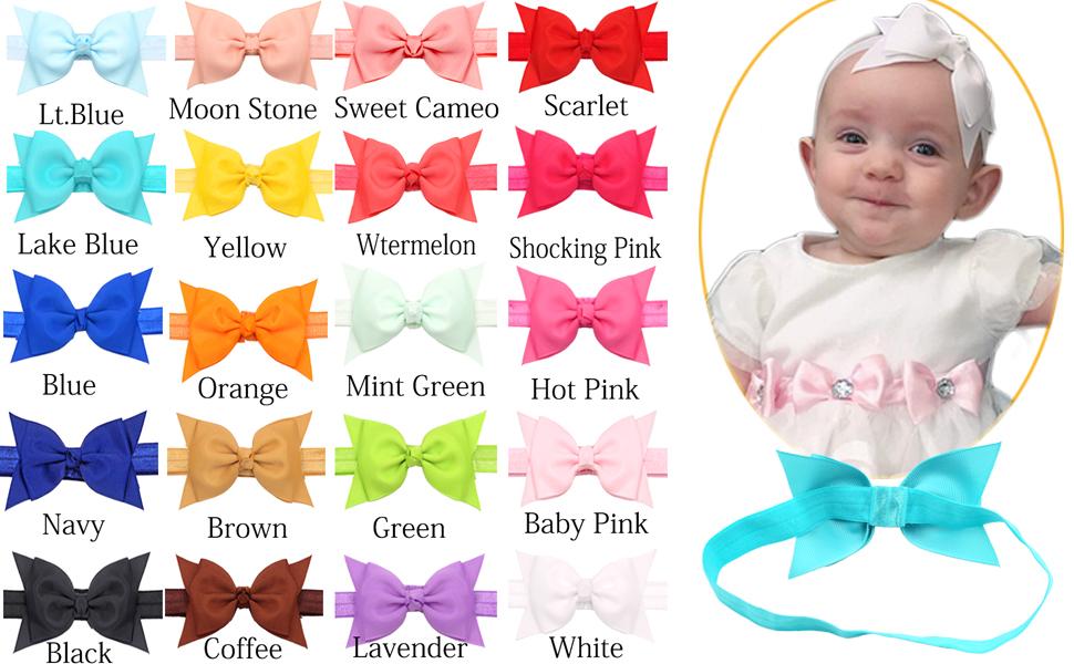headbands colors