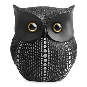 Black/White Dots Owl