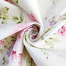 crib sheets breathable toddler mattress sheets floral
