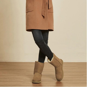 chestnut winter boots chestnut shearling boots
