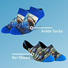 ankle socks and no-show socks