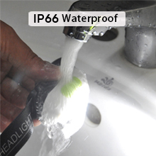 waterproof headlamp