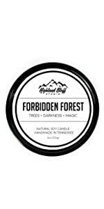 Forbidden Forest Soy Candle