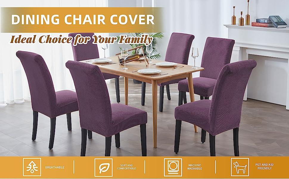 Purple Chair Cover A+1