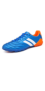 Men Athletic Outdoor/Indoor Comfortable Soccer Shoes Boys Football Student Cleats Sneaker Shoes