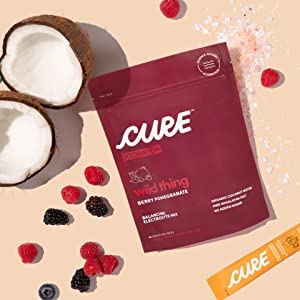 Cure Hydration, Natural Ingredients, no added sugar, no artificial ingredients, coconut water