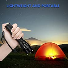 led flashlights high lumens waterproof