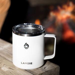 camping mug with handle