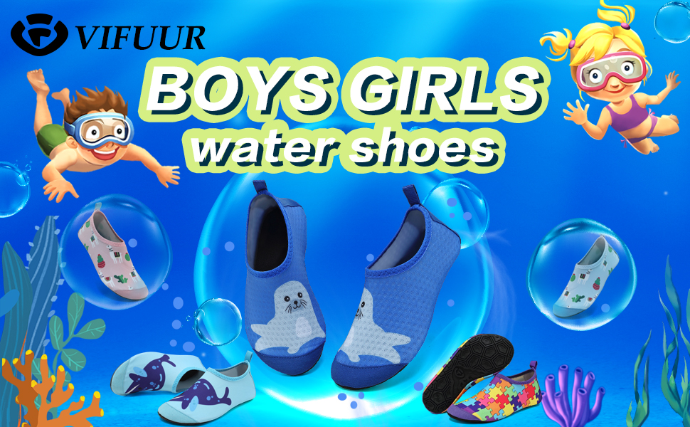 girls  boys water shoes