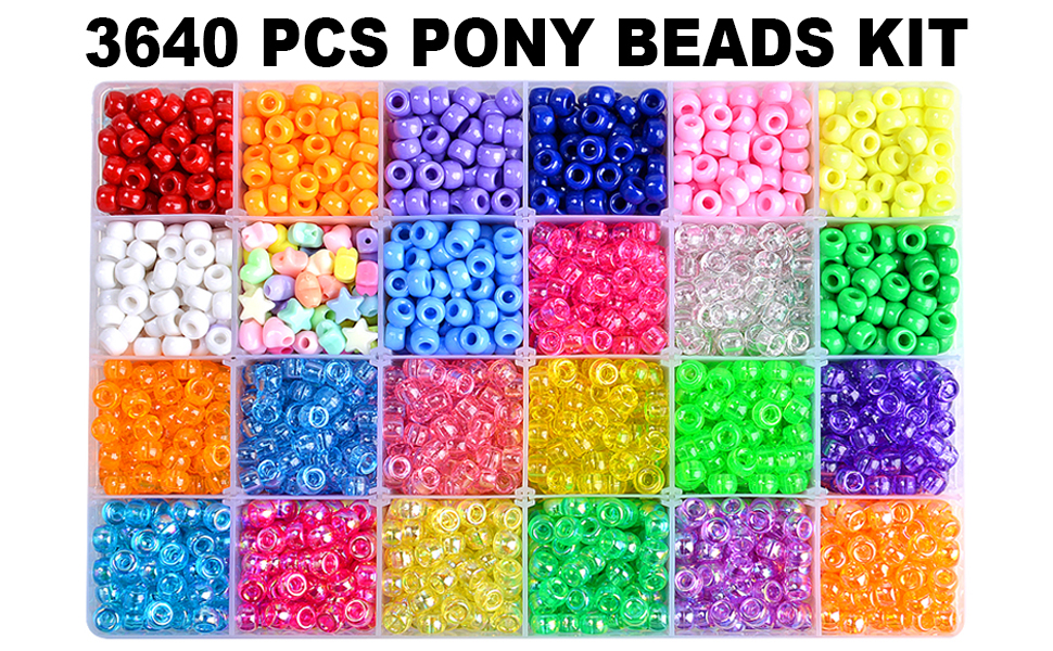 Pony beads