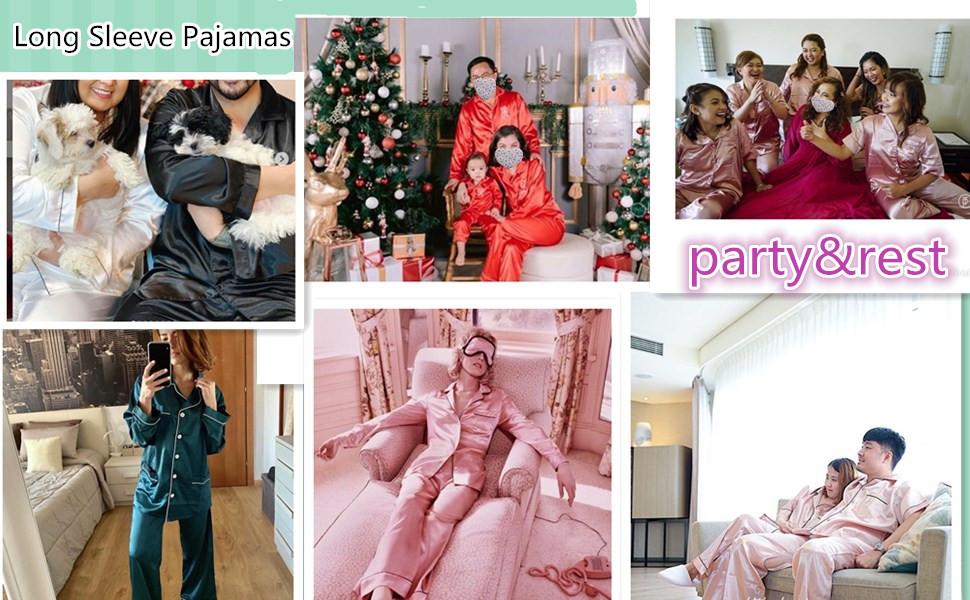 pajamas set long