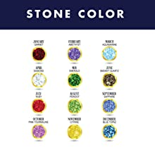 Select Your Gemstone Color