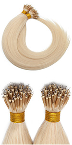 Nano beads hair extensions