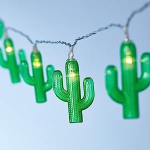 Indoor string lights,party lights,tiki party lights,cactus lights,kids bedroom lights,fiesta lights