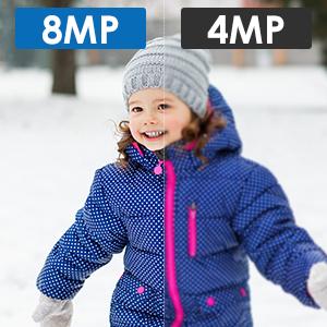 4K Ultra HD 8MP