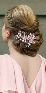 wedding hair comb