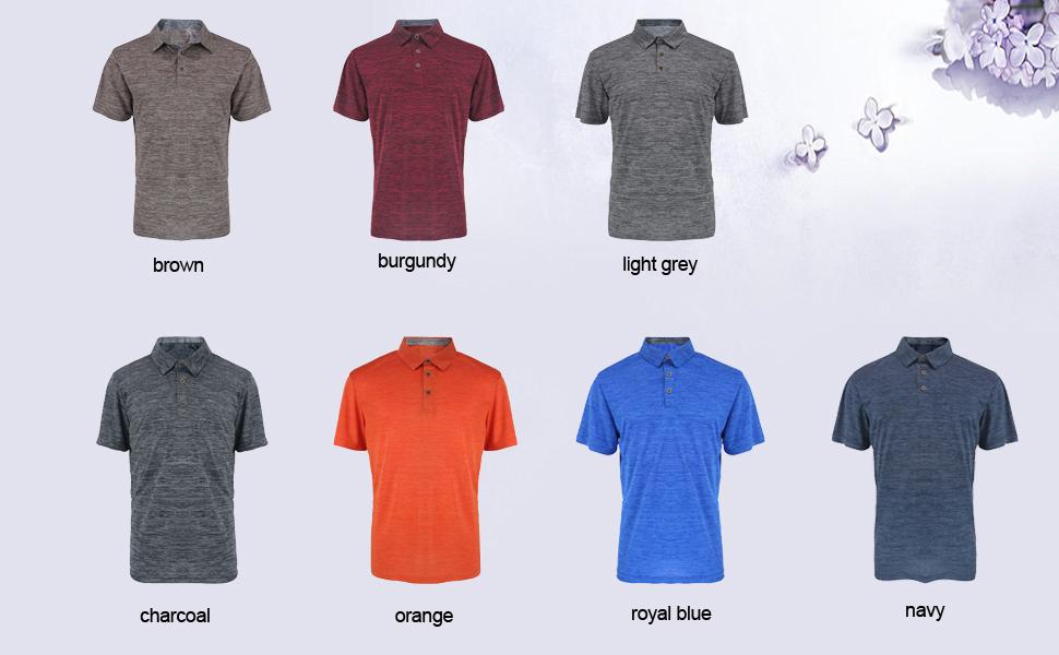 athletic polo shirts