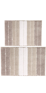 Pauwer Bath Rug Set of 2 for Bathroom