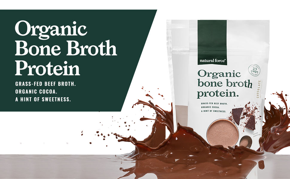 natural force bone broth protein grass fed beef broth nothing else