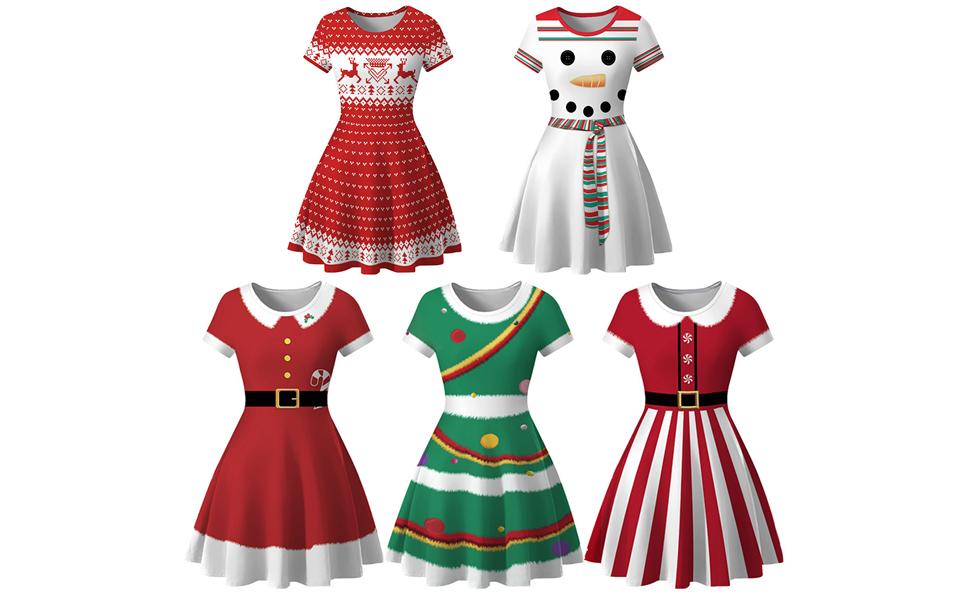 3D Print Christmas Dress