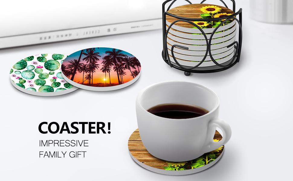 coaster impressive family gift