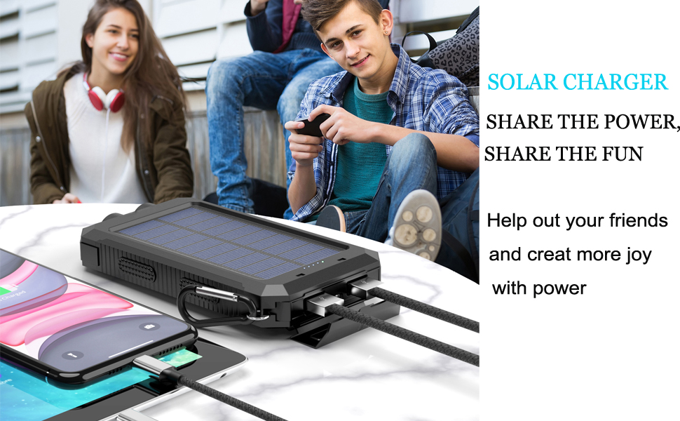 solar power bank for cell phone