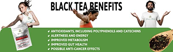 Benefits of black tea antioxidants alertness and energy