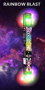 rockstix HD rainbow blast kids light up drumsticks amazon prime fun