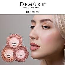 mineral makeup blush natural organic make up loose powder