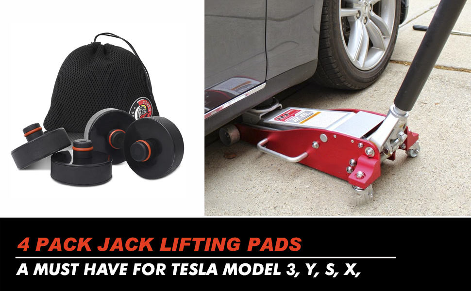 Tesla jack pad