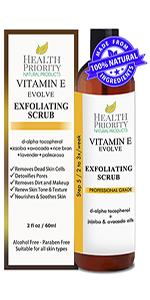 vitamin e facial scrub