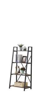 4 tier ladder shelf living room