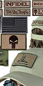 Cap & Morale Patch Kit [Bonus: Pouch]