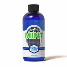 coral nano silver mouthwash mint