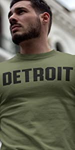 Detroit t-shirt apparel clothing brand company