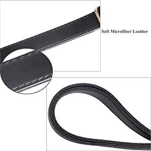 black handbag strap