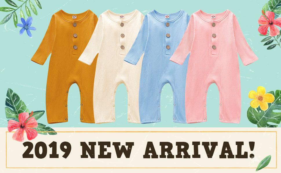2019 Newest Unisex Baby One-Piece Bodysuit