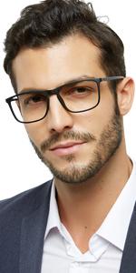 Flexible reading glasses business men readers