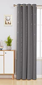 blackout curtains 45 inch length
