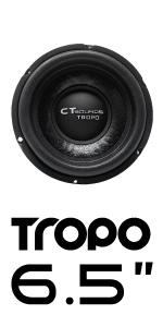 CT Sounds Tropo 6.5 inch Car Audio subwoofer
