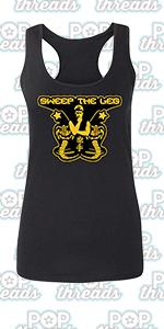 Cobra Kai Karate Kid Merchandise Retro No Mercy Fashion Tank Top Tee for Women