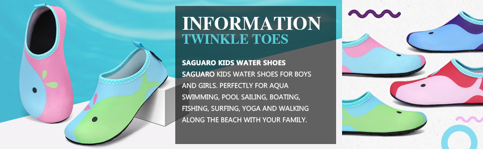 Saguaro kid water shoes perfect for