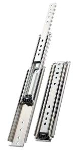 Ultra heavy duty drawer slides