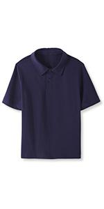 Boys Cotton Short Sleeve Polo Shirt