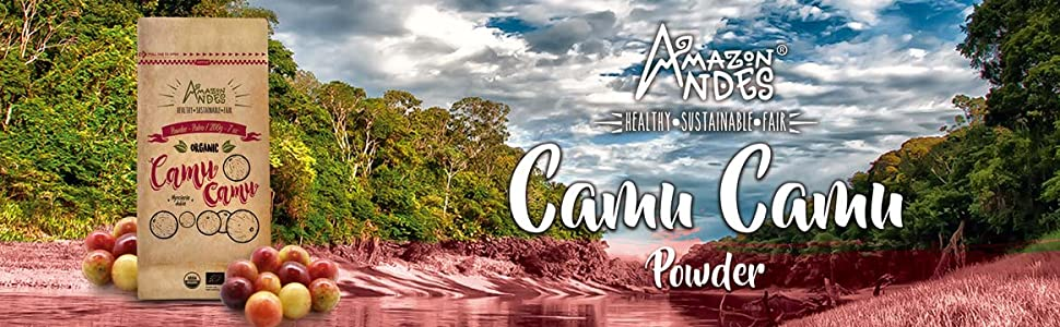 CAMU CAMU POWDER AMAZON ANDES