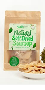 soft dried soursop natural soursop organic fruits natural fruit