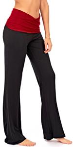 Fold Over Yoga Pants