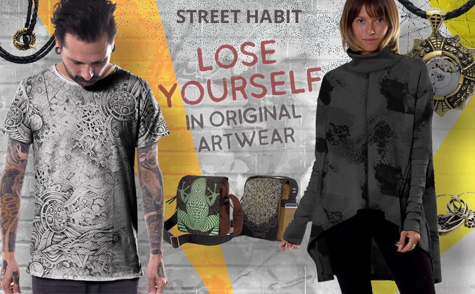 Street Habit Men's Unique Printed T-shirt